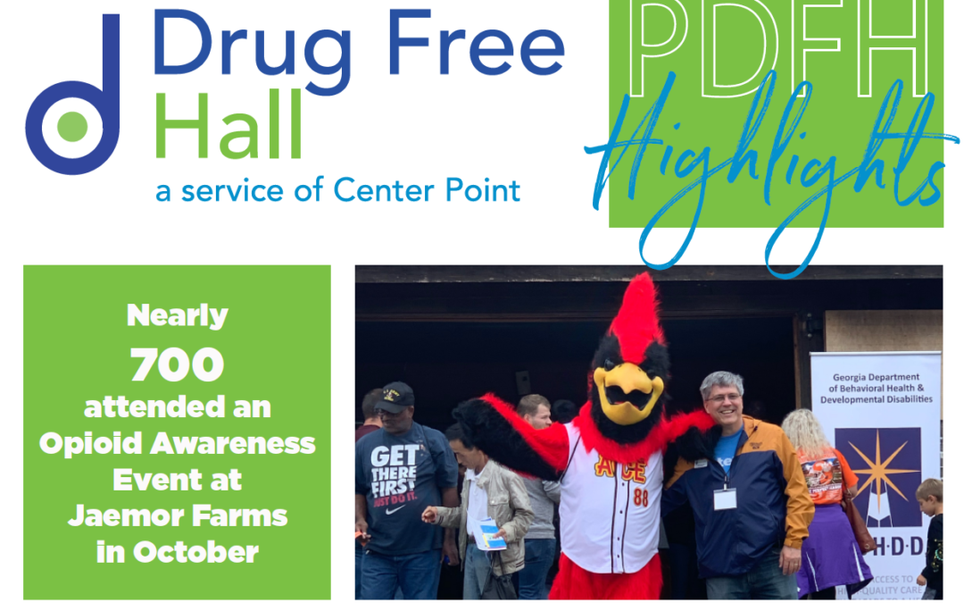 Highlights from our Drug Free Hall partnership